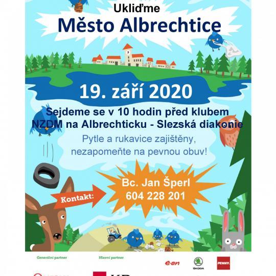 Ukliďme Město Albrechtice